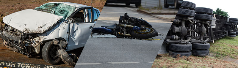 Car, Motorcycle, truck Accident Attorneys